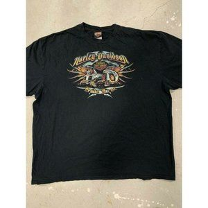 Harley Davidson Ride Free Heavy Graphic Shirt L